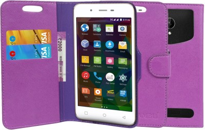 CHAMBU Flip Cover for Samsung Galaxy Star 2(Purple, Dual Protection, Artificial Leather)