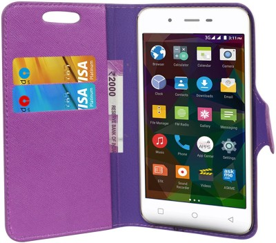 CHAMBU Flip Cover for Garmin-Asus nuvifone M10(Purple, Shock Proof, Artificial Leather)