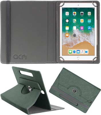 ACM Flip Cover for Apple iPad 9.7 inch(Grey, Cases with Holder)