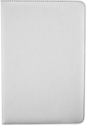 Emartbuy Wallet Case Cover for Binatone HomeSurf 744(White, Charging Case, Artificial Leather)