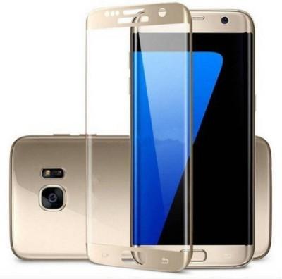 LIRAMARK Edge To Edge Tempered Glass for Samsung Galaxy S8 ( 5D ) ( White Color )