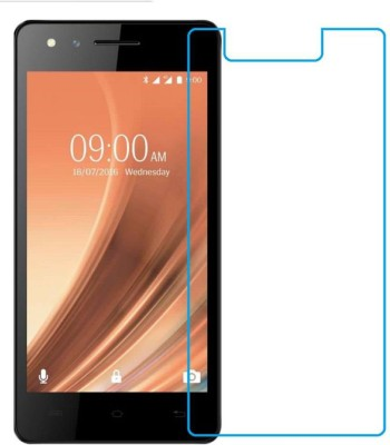 Mobileshoppy Tempered Glass Guard for Lava A68(Pack of 1)