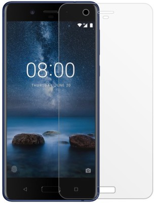 DSCASE Tempered Glass Guard for NOKIA 8(Pack of 1)