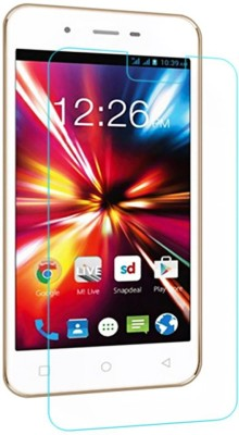 Accessories Bucket Tempered Glass Guard for Micromax Canvas Selfie 2 Q340(Pack of 1)