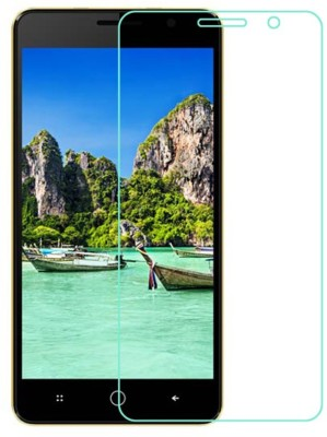 QTouch Tempered Glass Guard for Intex Aqua Power Plus