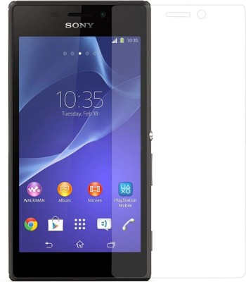 Hato Bacho Tempered Glass Guard for Sony Xperia M2 D2303(Pack of 1)