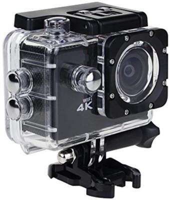 CALLIE actioncvamera 4k actioncamera Sports and Action Camera Black, 16 MP
