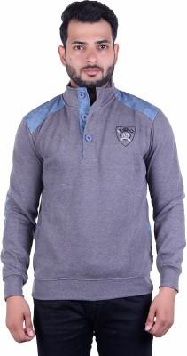 ABSURD Full Sleeve Self Design Men Sweatshirt