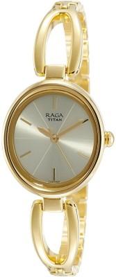 TitanNN2579YM01 Raga Viva Analog Watch   For Women