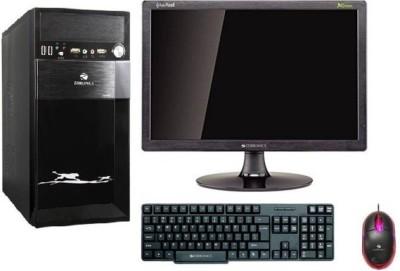 Assembled - (Pentium Dual Core/4 GB DDR2/500 GB/Free DOS/512 MB)(Black, 18 Inch Screen)