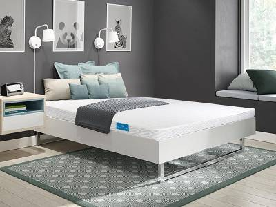 Sleepsutraa Dual Sense 4 inch Single High Resilience (HR) Foam Mattress