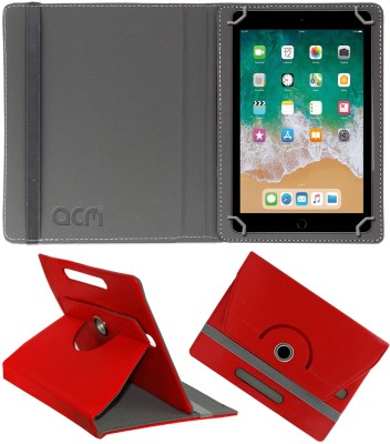 ACM Flip Cover for Apple iPad 6th Gen 9.7 inch(Red, Cases with Holder)