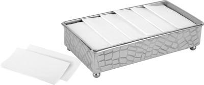 Smartserve Smartserve grid Tissue Holder Dinner Set(Steel) at flipkart