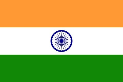pariferry India Square Outdoor Flag Flag(Polyester)