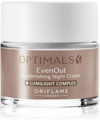 Oriflame Sweden Optimals Even out Replenshing Night Cream(50 ml)