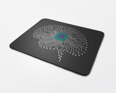 Logitech Brain Tech Mousepad(Black)
