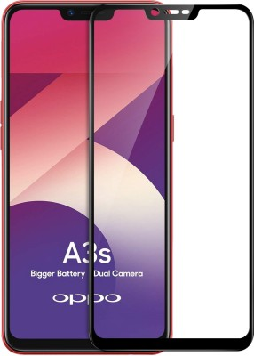 Flipkart SmartBuy Edge To Edge Tempered Glass for Oppo A3s(Pack of 1)