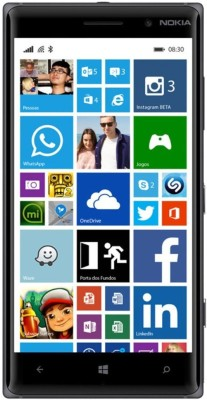 BhanujT Tempered Glass Guard for Nokia Lumia 830(Pack of 1)