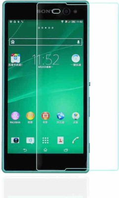 Shape n Style Tempered Glass Guard for Sony Xperia C3D2533(Pack of 1)