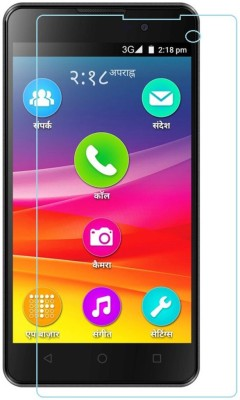 Mobi Square Tempered Glass Guard for Micromax Canvas Fire 2 A104
