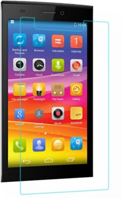 Mobi Square Tempered Glass Guard for Micromax Canvas 2 A110