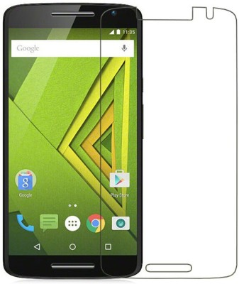 Screen Pro Tempered Glass Guard for Motorola Moto X Play(Pack of 1)