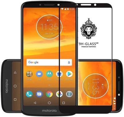 iZAP Tempered Glass Guard for 5D 9H Tempered Glass Motorola Moto E5 Plus Black(Pack of 1)