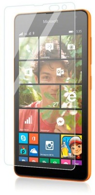 CHVTS Tempered Glass Guard for Microsoft Lumia 535(Pack of 1)
