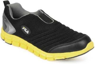 Fila Fila Men Black Slip on Sports Shoes SMASH LITE Running