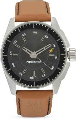 Fastrack NG3089SL05/NK3089SL05 Black Magic Analog Watch   For Men Fastrack Wrist Watches