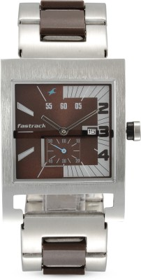 Fastrack NG1478SM02 Analog Watch   For Men Fastrack Wrist Watches