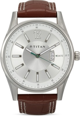 Titan NF9322SL03MJ Octane Analog Watch   For Men Titan Wrist Watches