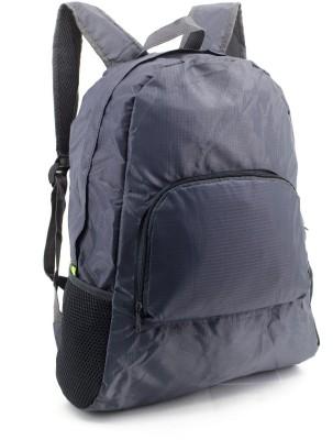 57% OFF on Bludug Foldable Lightweight Waterproof Travel Backpack Daypack  Bag Sports Hiking Waterproof Shoulder Bag(Grey cb5cd04dd2598