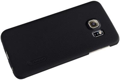 Mozette Back Cover for Samsung Galaxy S6 Edge Black