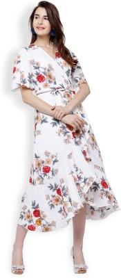 Tokyo Talkies Women Shift White Dress