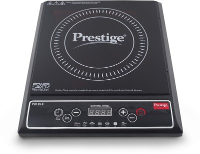 Prestige PIC 25.0 Induction Cooktop(Black, Push Button)