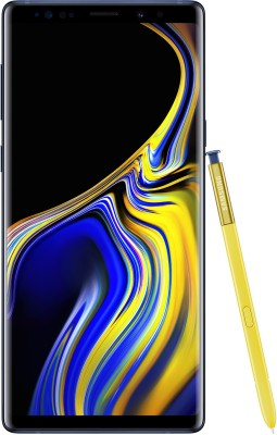 Samsung Galaxy Note 9 (Ocean Blue, 512 GB)(8 GB RAM) at flipkart