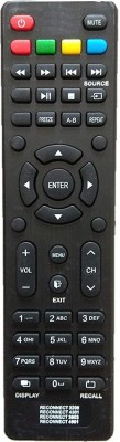 LipiWorld Reconnect Led/LCD Tv Remote Compatible with Reconnect 3206 4301 3903 4901 Remote Controller(Black)