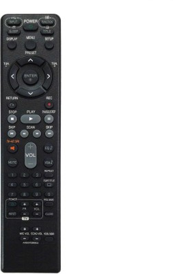 LipiWorld AKB37026802 DVD Universal Remote Compatible with Lg DVD Home Theater System LG Remote Controller(Black)