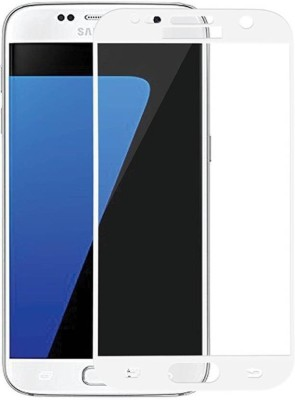 GBKS Tempered Glass Guard for SAMSUNG GALAXY S6 , WHITE 5D GLASS(Pack of 1)