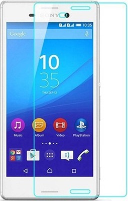 H.K.Impex Tempered Glass Guard for Sony Xperia M4 Aqua Dual,sony xperia m4 tempered glass in mobile screen guard (full body cover glass)(Pack of 1)