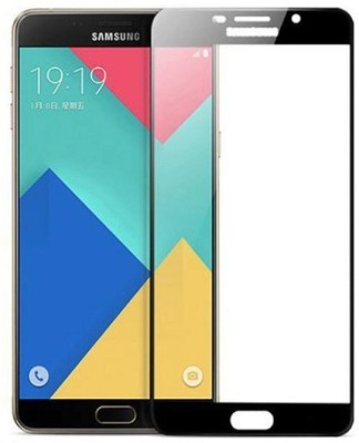 Marshland Tempered Glass Guard for Samsung Galaxy A9 Pro?Front Black Pack of 1 Marshland Screen Guards