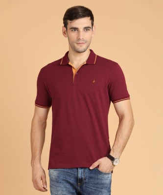 Metronaut MW17P004A-Maroon Solid Men