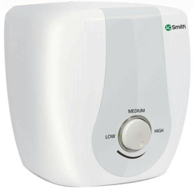 AO Smith 10 L Storage Water Geyser (HSE-SAS 10LTRS, White)
