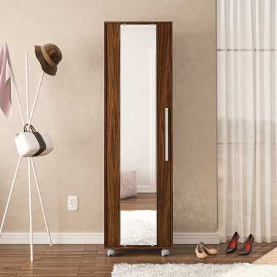 Furn Central Engineered Wood Free Standing Cabinet(Finish Color - Imbuia)