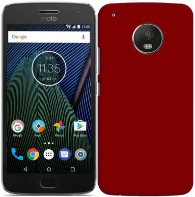 Kolorfame Back Cover for Motorola Moto G5 Plus Red