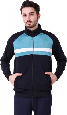 Delta Sports Full Sleeve Striped Men's Jacket