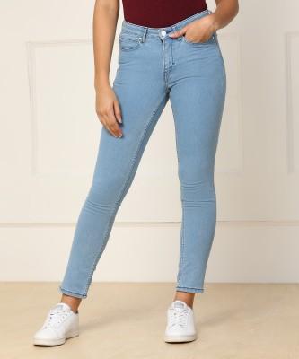 Lee Slim Women Dark Blue Jeans
