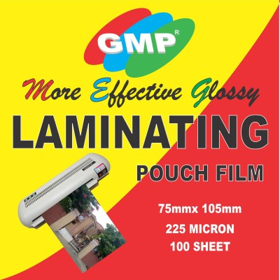 GMP film lamination 75mm x 105mm Thermal Paper