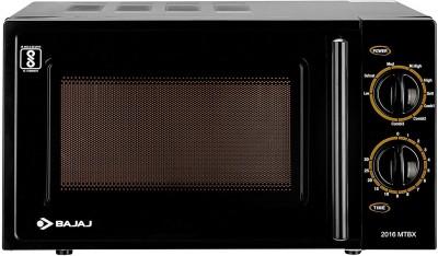BAJAJ 20 L Grill Microwave Oven(2016 MTBX, Black)